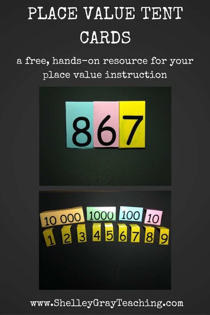 PLACE VALUE TENT CARDS (1)