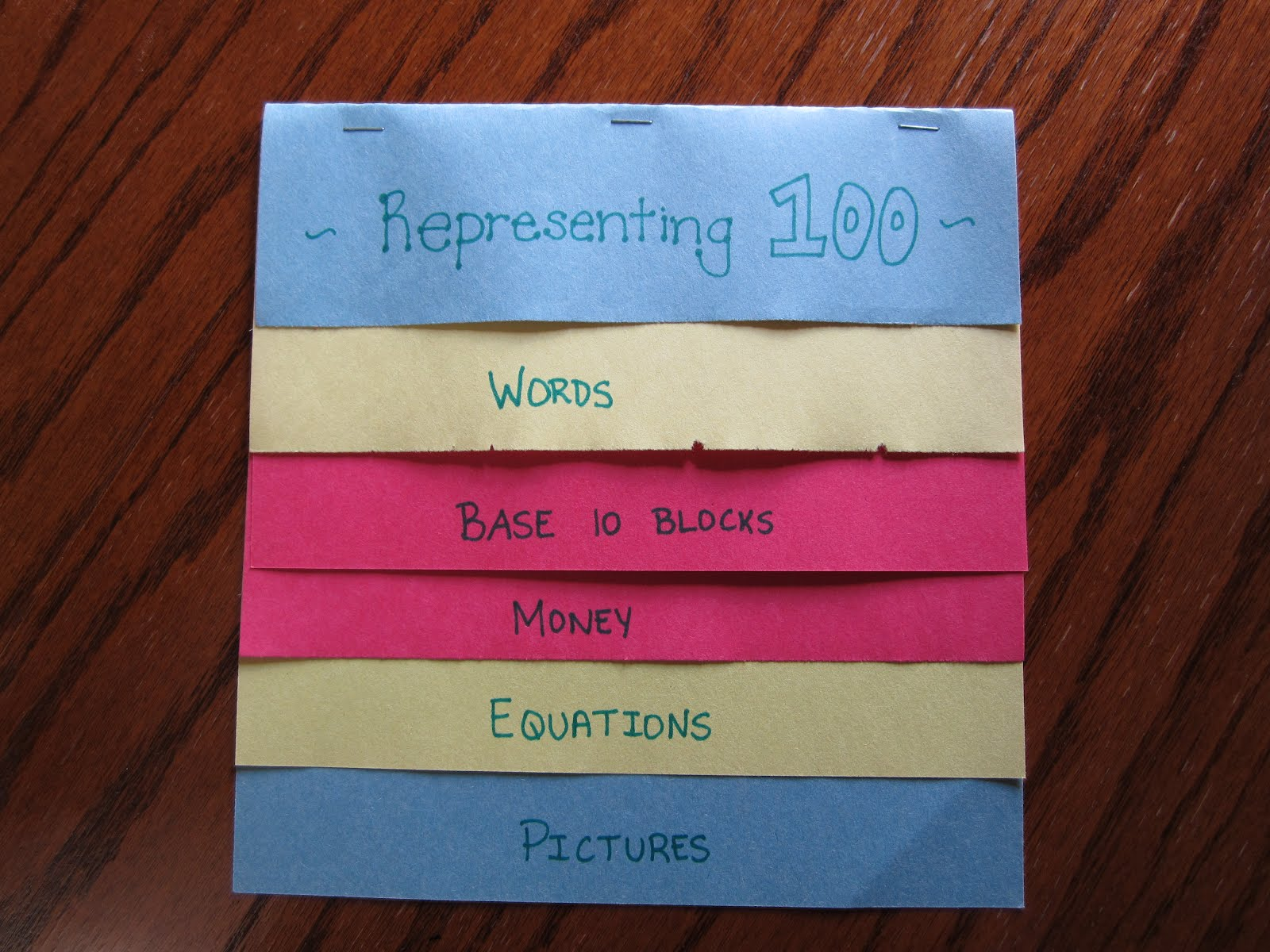 how to make foldables shelley gray