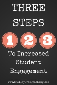 THREE STEPS TO INCREASED ENGAGEMENTPinterest