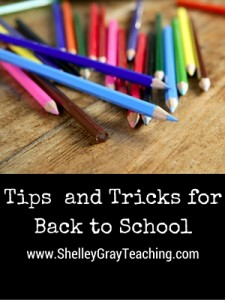 BacktoSchoolTipsandTricks