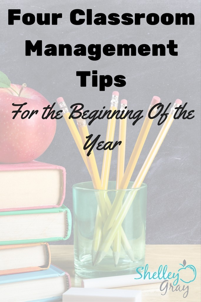 Four Classroom Management Tips