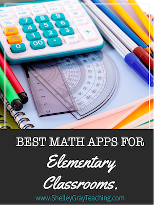Best Math Apps And Websites For Elementary Classrooms Shelley Gray