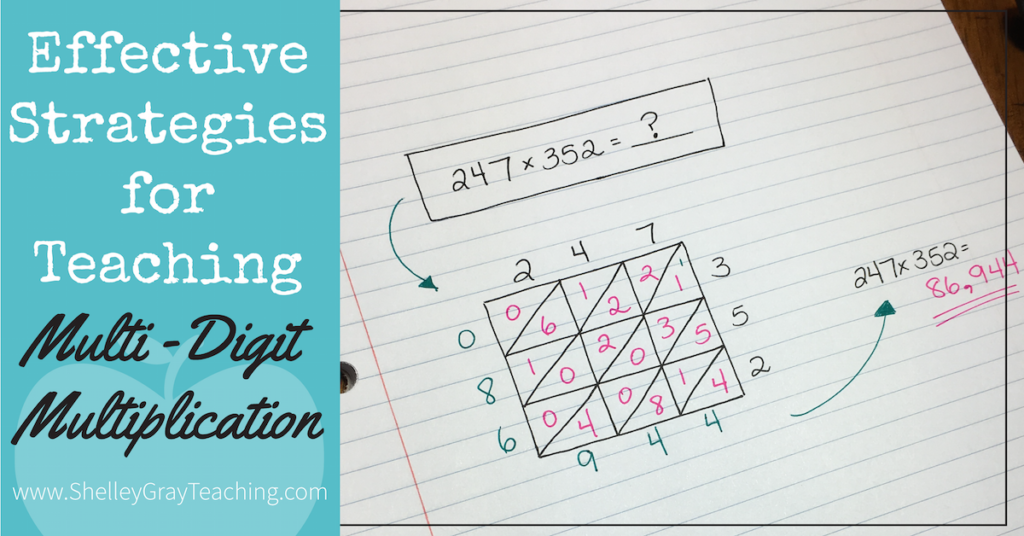 Effective Strategies to Teach Multi-Digit Multiplication