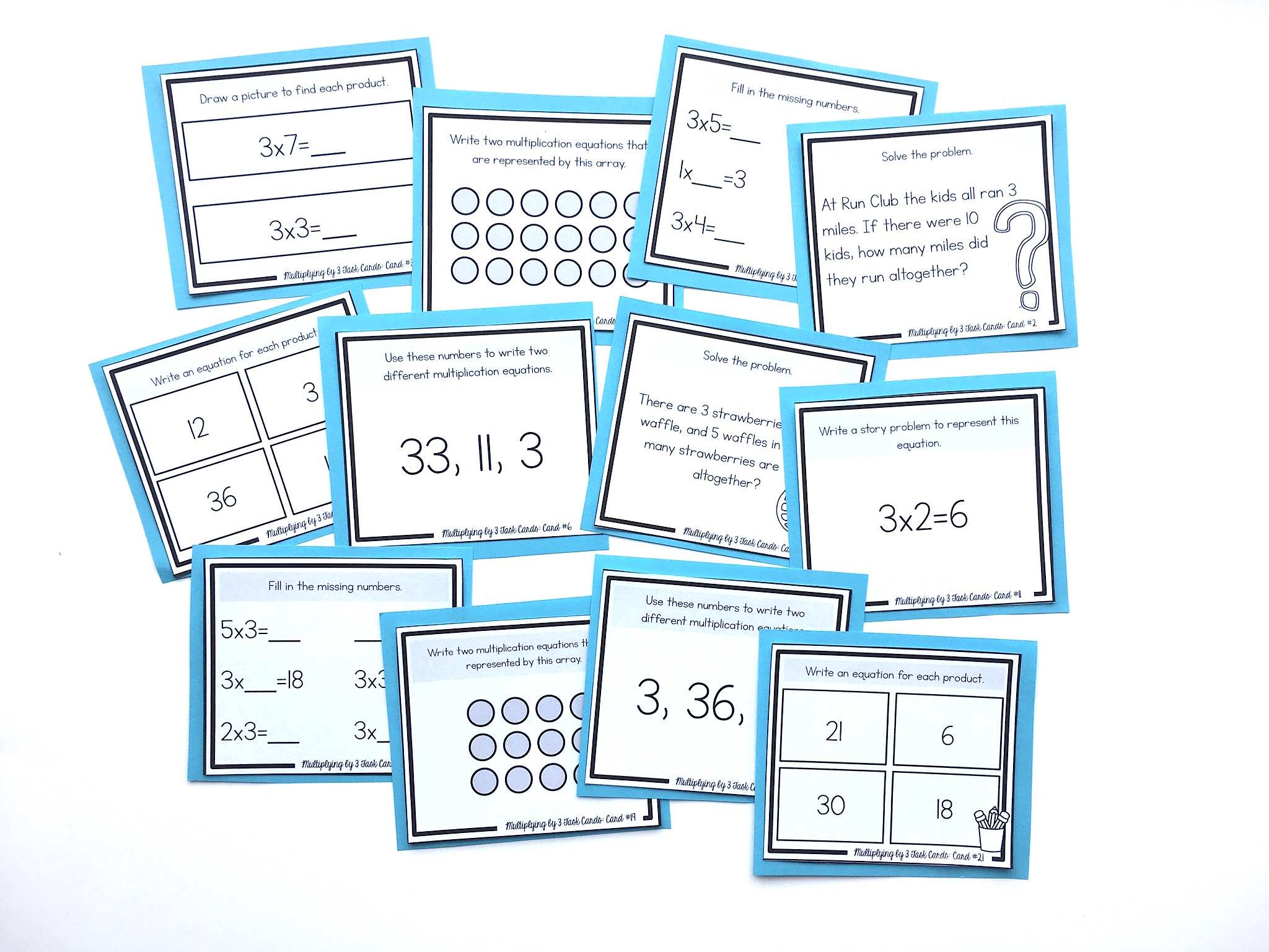 How to Teach the 3\'s Multiplication Facts - Shelley Gray