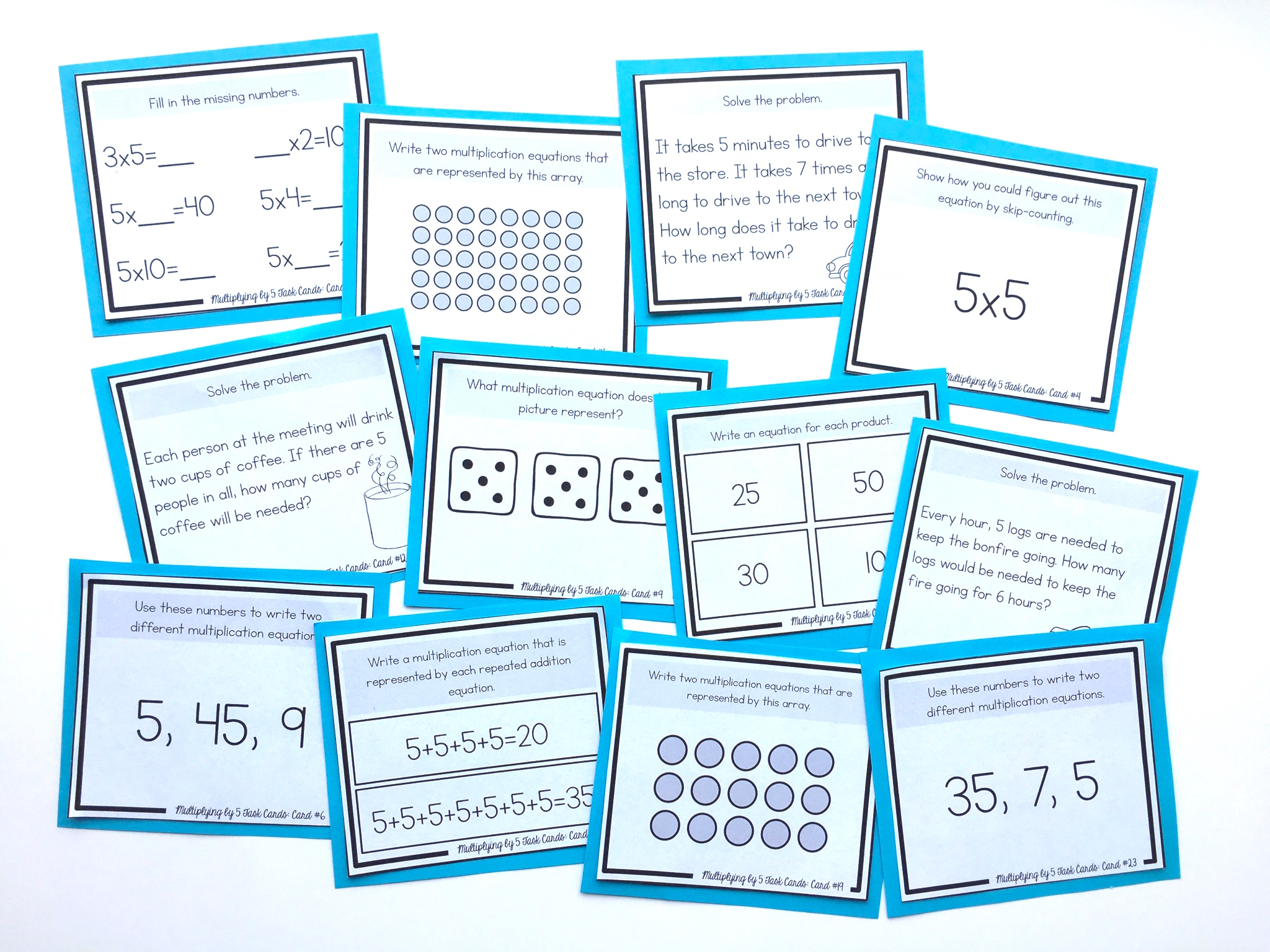How to Teach the 5\'s Multiplication Facts - Shelley Gray