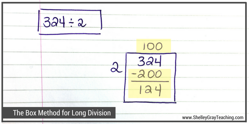 The Box or Area Method: an alternative to traditional long ...