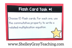 photo about Free Printable Task Cards identify 8 Tactics In direction of Seek the services of Multiplication Flashcards Inside of Your Clroom