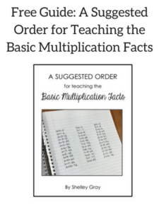 a suggested order for teaching the basic multiplication facts - a strategic, practical approach
