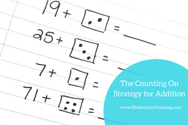 Counting On: An Addition Strategy - Shelley Gray