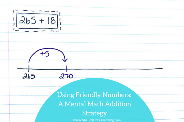Using Friendly Numbers: An Addition Strategy - Shelley Gray