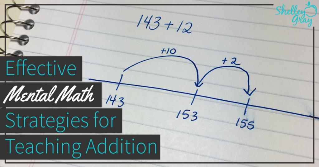 effective mental math strategies for addition