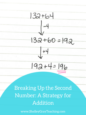 compensation mental math addition strategy