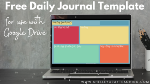 Free Daily Journal Template for Use with Google Drive