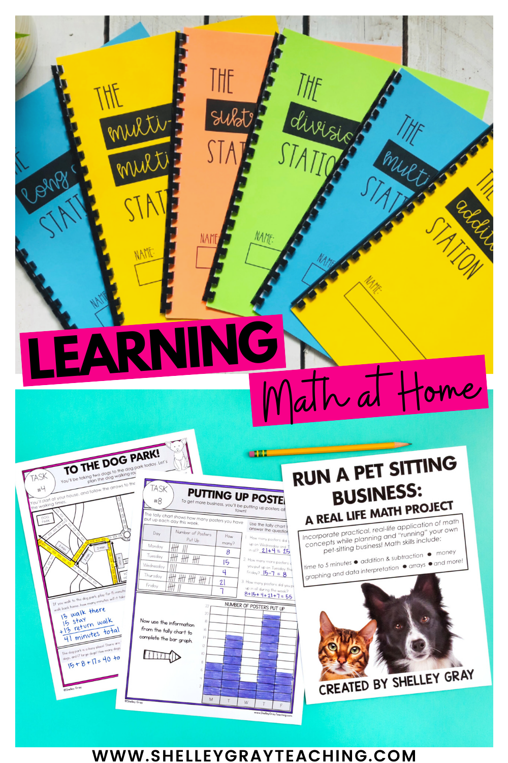 Learning Math At Home