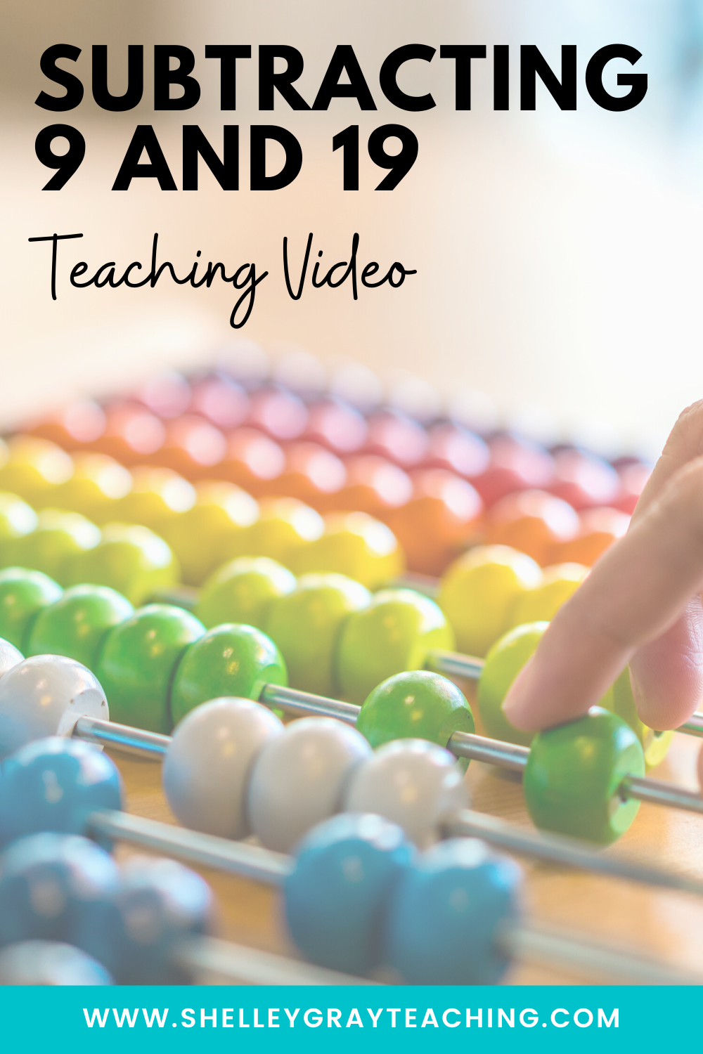 Subtracting 9 and 19: Teaching Video