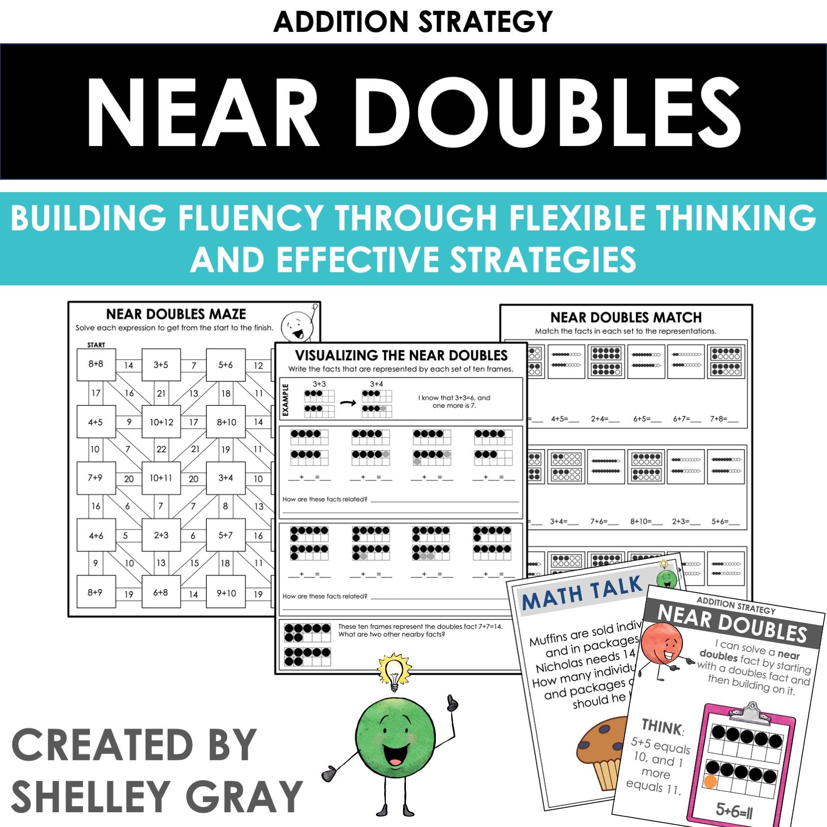Near Doubles Math Resource