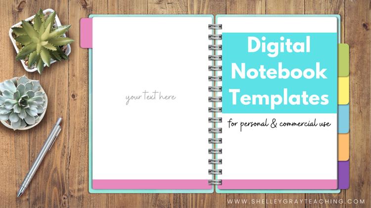 Digital Notebook Templates